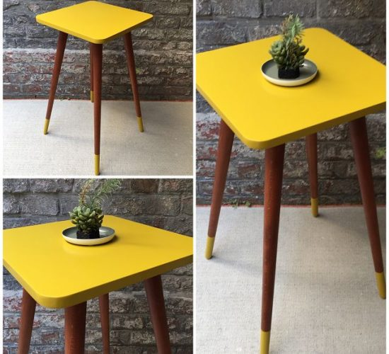 Vintage-Möbel-Tisch