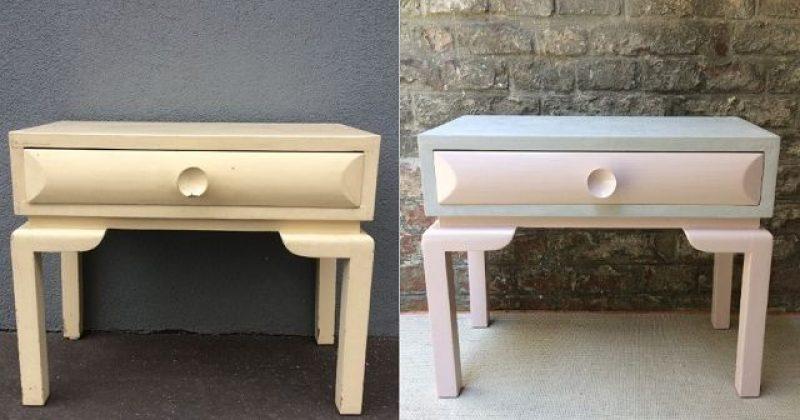 Beton-Möbel