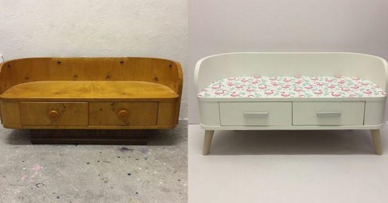 Vorher-Nachher-Möbel-Upcycling-Wien-individuell-bunt-Kindermöbel