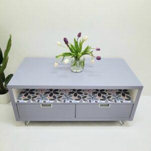 Anni's Art and Living-Möbelupcycling-Wien-Ikeamöbel-Tv-Tisch-ausaltmachneu-Designmöbel-Möbelunikat-nachhaltig-cool-Interior