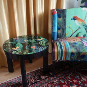 Home-Tropical-Tisch-individuell-foliert