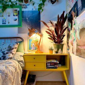 Home-yellow-Scandi-Kommode-nachhaltig-originell-wohnen-Wien-Interior